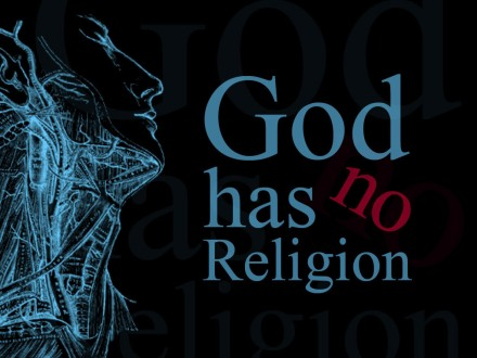 God has No Religion