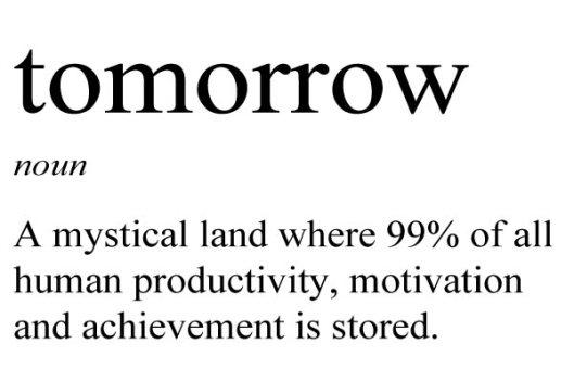 tomorrow-definition